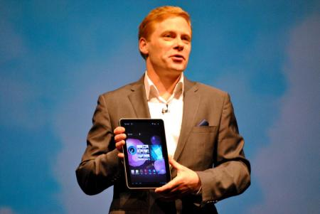 Samsung Galaxy Tab 10.1 at Mobile World Congress